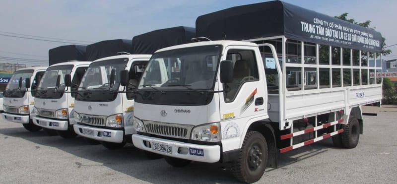 Dịch vụ vận tải - chuyên nhận chở hàng thuê tại TP.HCM và các tỉnh lân cận